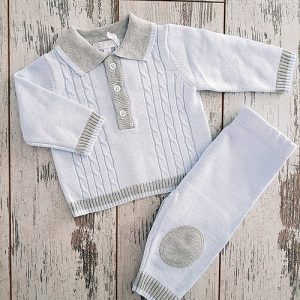 Golfer style knitted set