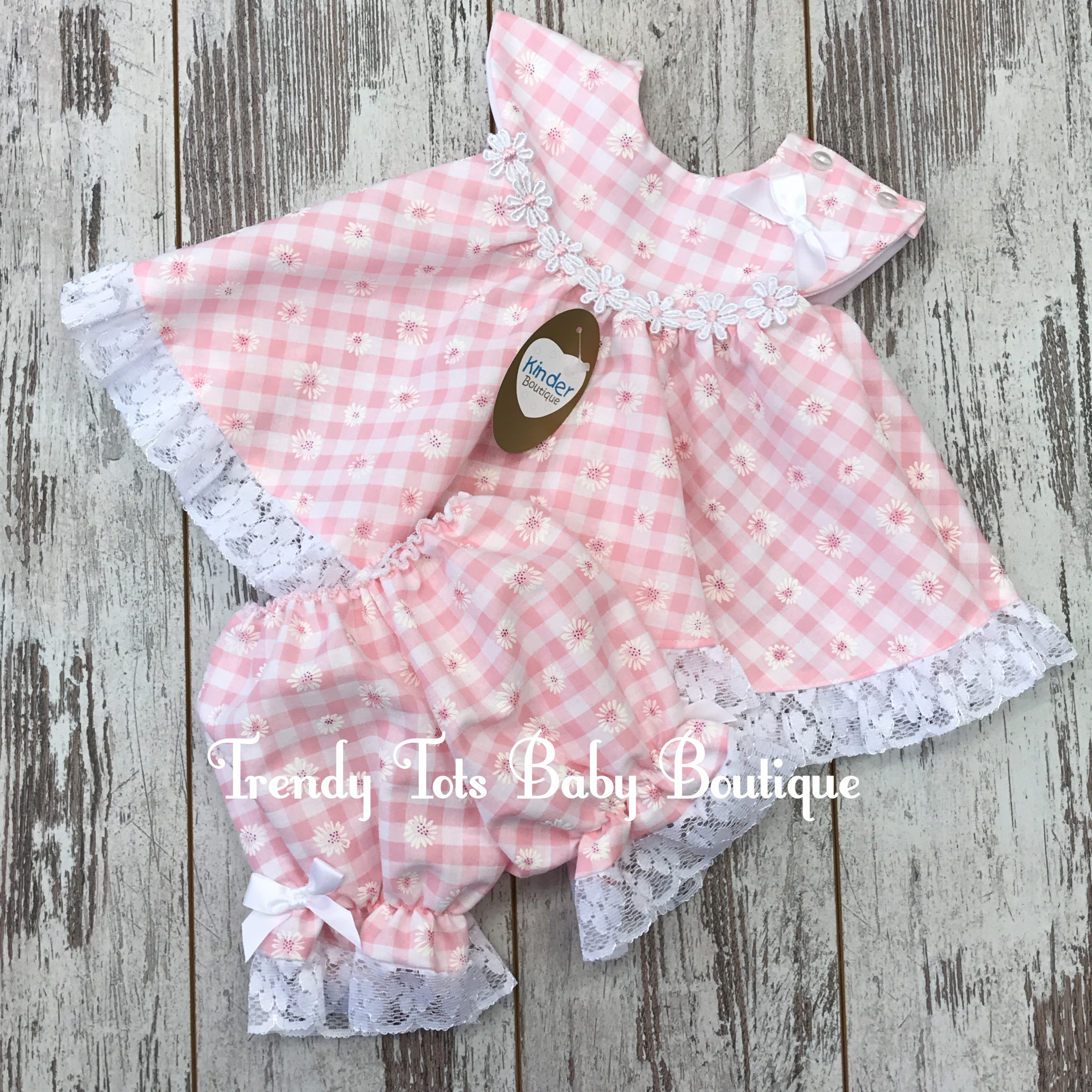 Daisy Summer Dress Trendy Tots Baby Boutique