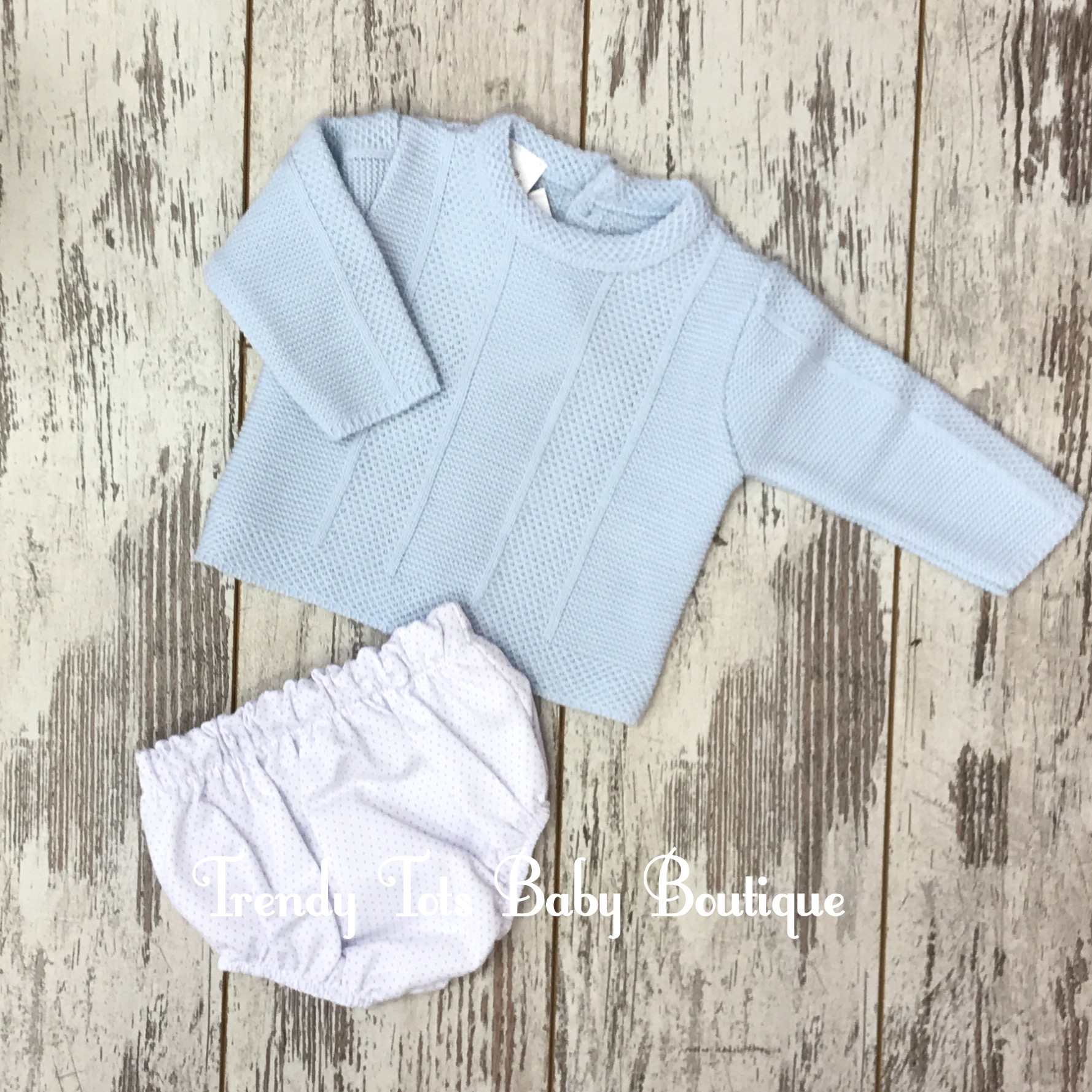 Spanish Knit Top And Jam Pants Trendy Tots Baby Boutique