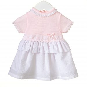 24M Baby Girl/'s Frill Suit Tracksuit Lounge Suit Summer Outfit Peach  3M
